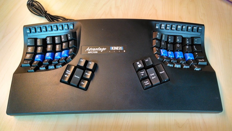 Kinesis Advantage, before modification